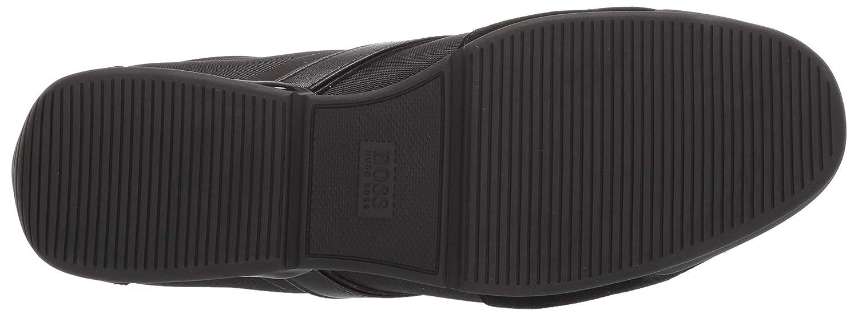 10 M US Black Hugo Boss BOSS Green Mens Saturn Profile Low Top Sneaker