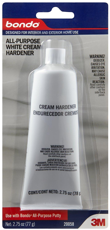 Bondo All-Purpose White Cream Hardener, 20058, 2.75 oz