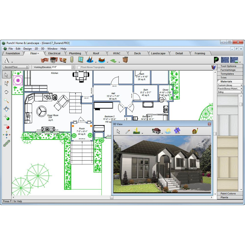 Enchanting Punch Home Landscape Design Pro 17.5 Picture Collection ...