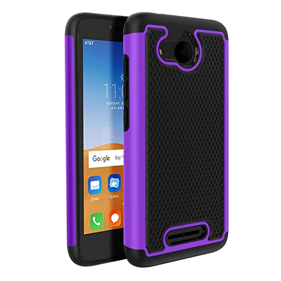 Alcatel Tetra Phone case, Alcatel Tetra Case, Shock Absorption&Built in TPU&Camera Protection,Heavy Duty Hybrid Dual Layer Hard Armor Shockproof Case ...