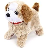 KIDZBELL Soft Toy Fantastic Puppy Battery Operated Back Flip Jumping Dog Jump Run Toy Kid