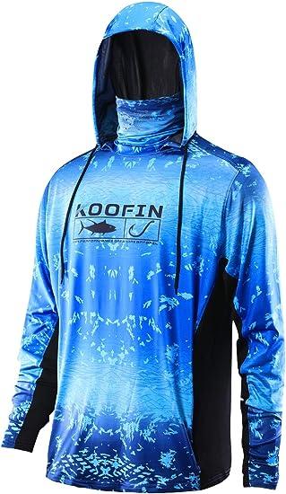 Mens Fishing Shirt Long Sleeve Fishing Hoodies Breathable Outdoor Sunscreen Coat