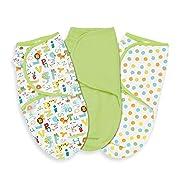 Summer Infant ABC Animals SwaddleMe Wrap (Pack of 3)