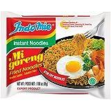 Mi Goreng Instant Stir Fry Noodles, Halal Certified, Original Flavor (Pack of 30)