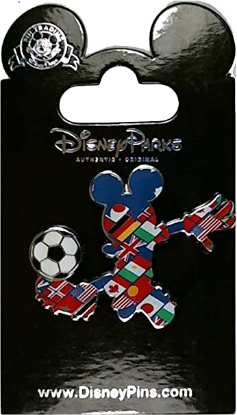 Mickey Mouse New York City Football Club Soccer Team Player Disney Pin