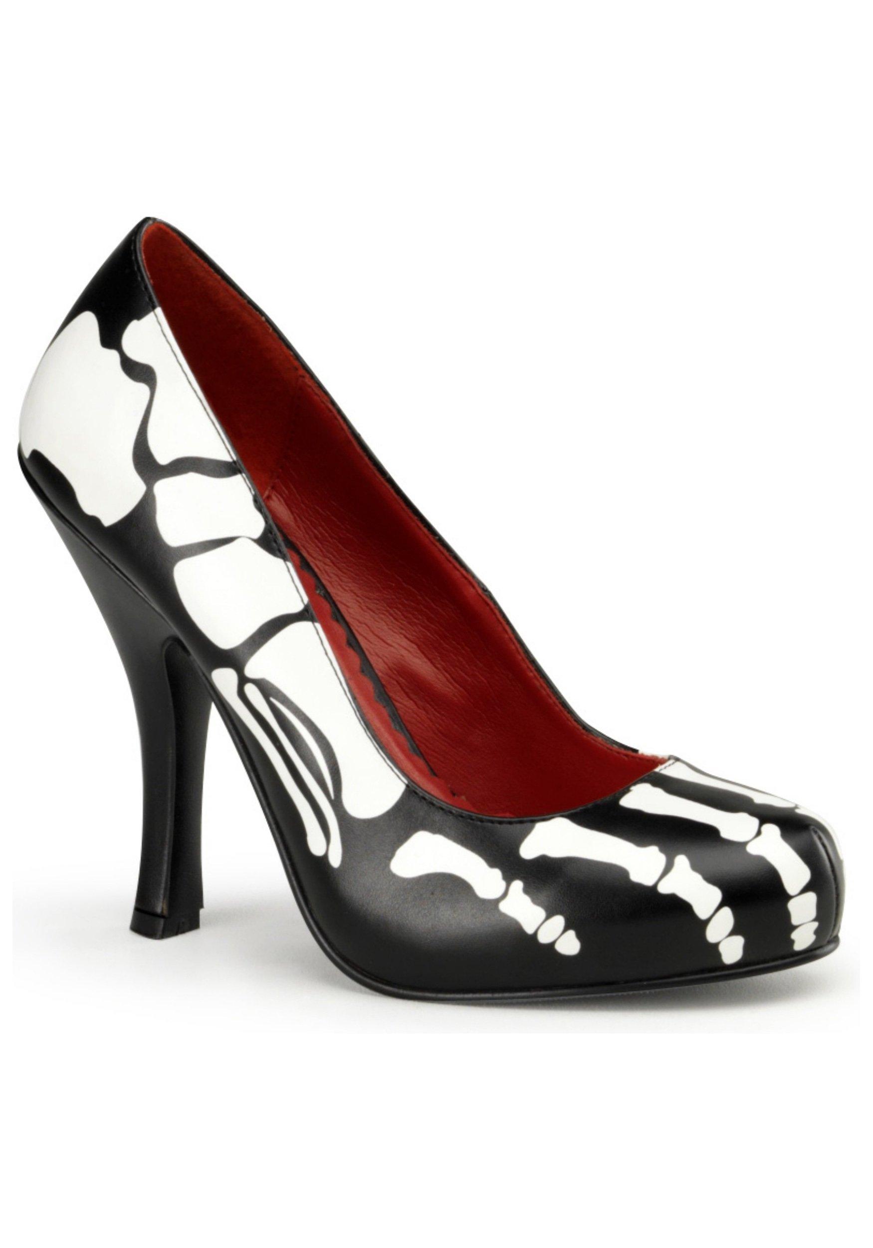 Skeleton High Heels - 8