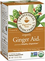 Traditional Medicinals Ginger Aid Tea Box