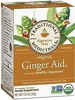 Traditional Medicinals Ginger Aid Tea Box