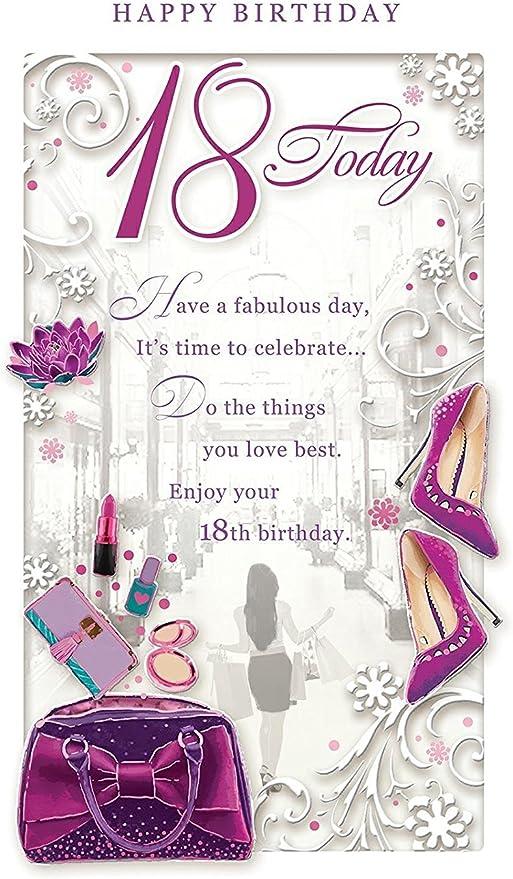 Biglietto di Auguri Pop-up 3D con Scritta in Inglese Happy Birthday 30 Today