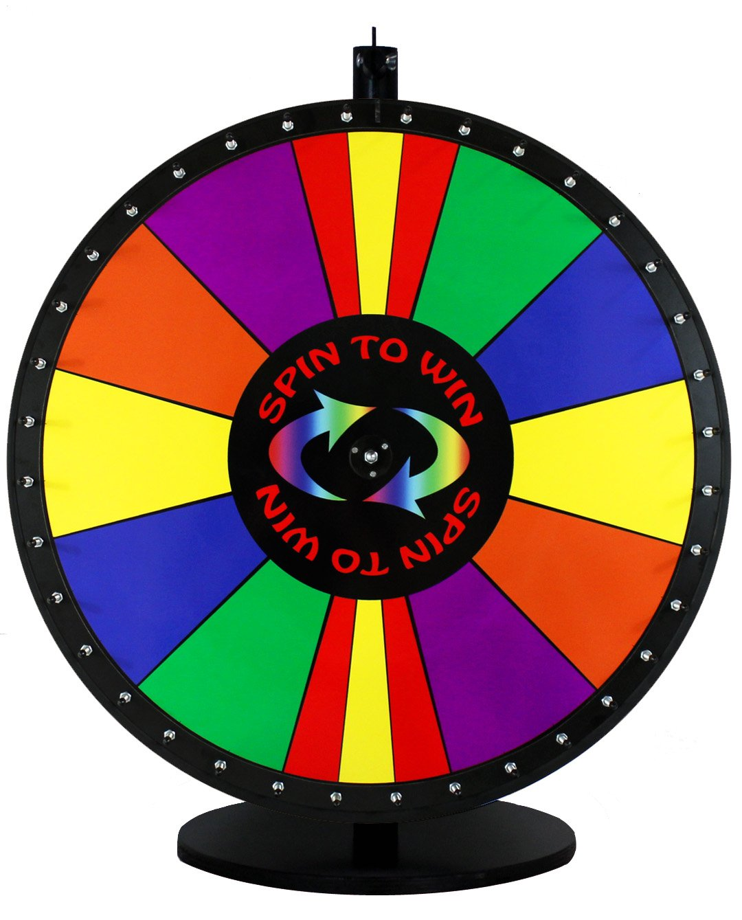 30in Spin to Win Dry Erase Prize Wheel with Special Sections by SpinningDesigns