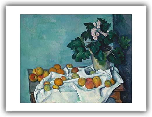 CEZANNE ART PRINT Basket of Apples 16X20 POSTER
