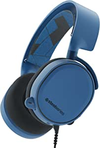 STEELSERIES ARCTIS 3 Boreal Blue HS 7.1 SURROUND GAMING HEADSET, S1 audio driver, PC, Console, VR, Mobile, steelSeriesClearCast microphone | 61436