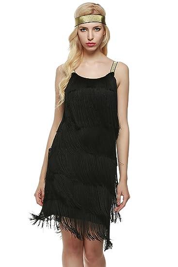 Amazon charleston kleid schwarz