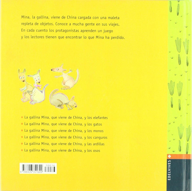 La gallina Mina que viene de China y los canguros: Mercè Arànega: 9788426351609: Amazon.com: Books