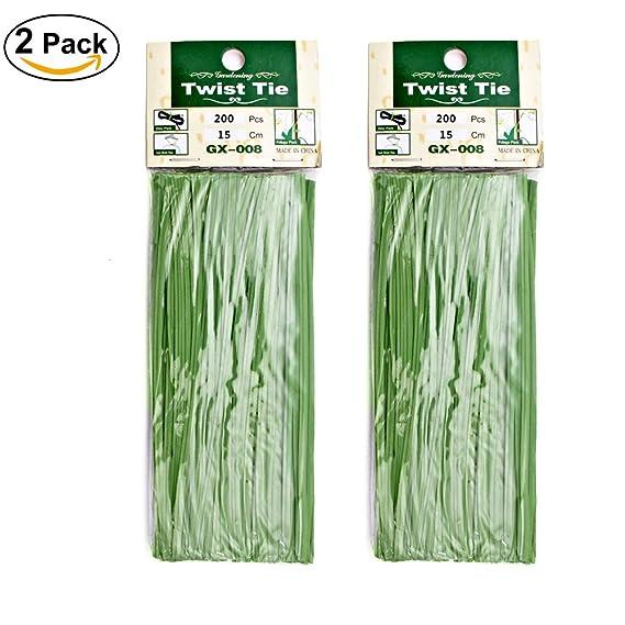 KLOLKUTTA - Corbata de plástico verde, color verde natural ...