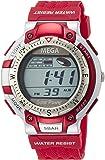[タイムイン]TIMEIN 腕時計 MEGASOLAR ソーラー MG002-RD メンズ 【正規輸入品】