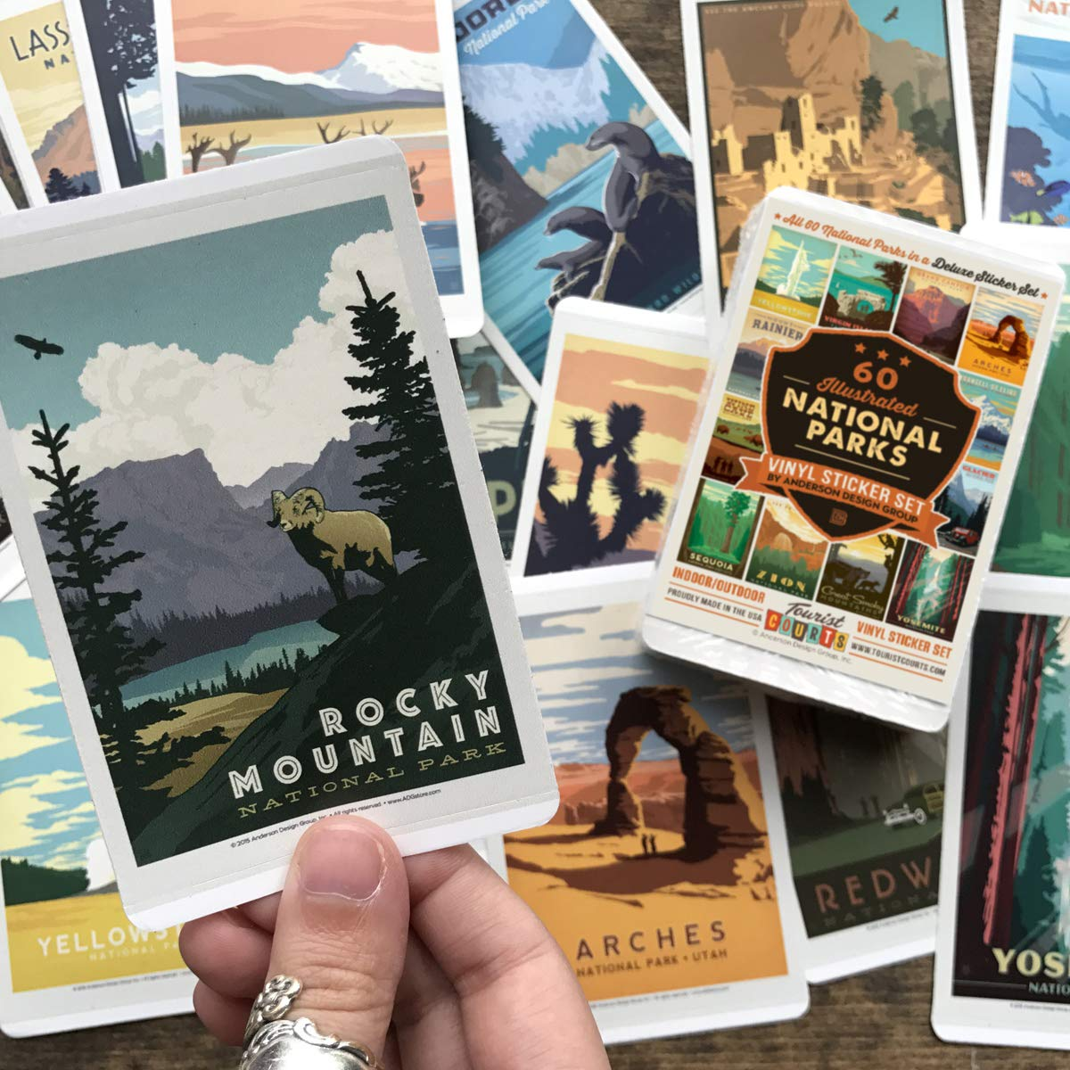 59-Piece Deluxe National Parks Sticker Set by Anderson Design Group (Image #3)