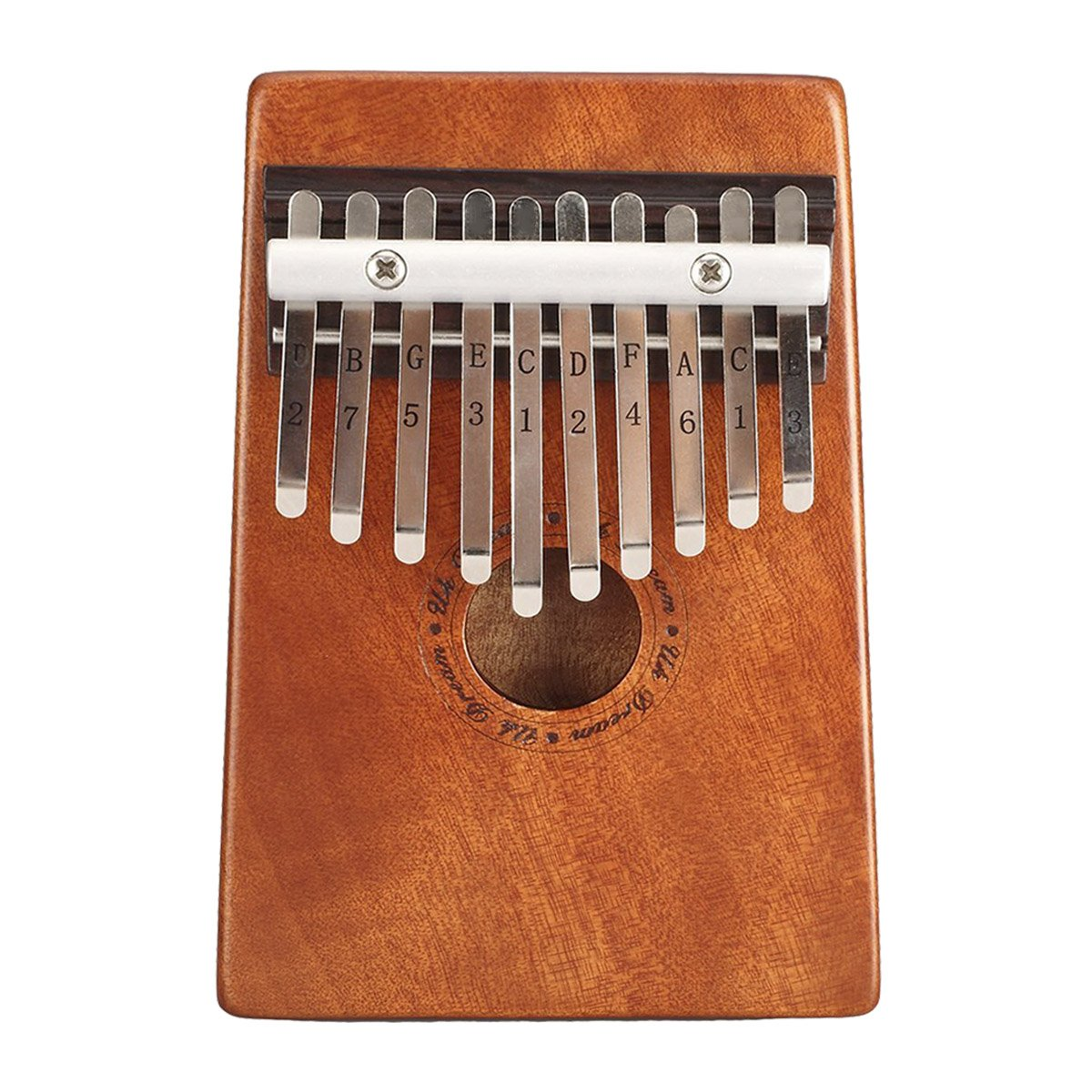 UK Dream 10 Key Kalimba Thumb Piano | Beautiful Mahogany Thumb Harp | An African Thumb Piano For Kids Is A Perfect Introduction To Music | The Traditional Kalimba Instrument Is Perfect For A Beginner Changyun