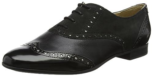 D Marlyna C, Zapatos de Cordones Oxford para Mujer, Negro (Black), 39.5 EU Geox