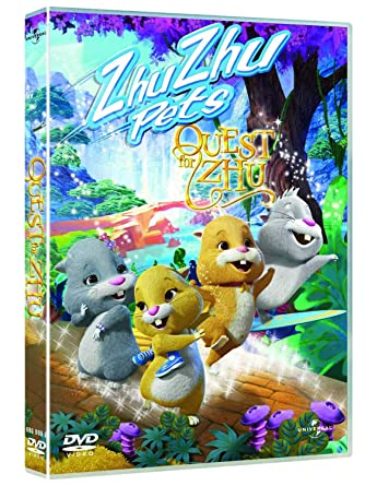 Amazon Com Zhu Zhu Pets Quest For Zhu Dvd Bob Doucette Movies Tv