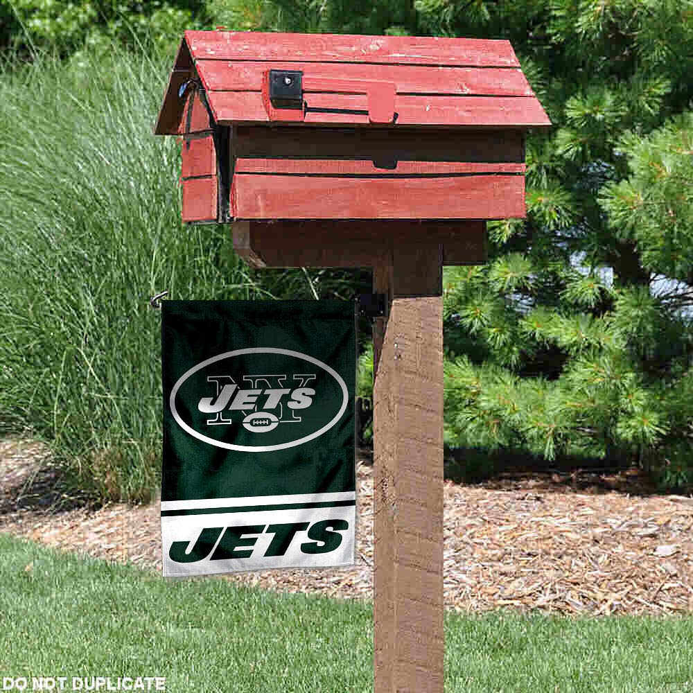 WinCraft New York Jets Double Sided Garden Flag