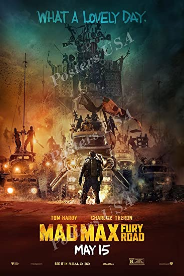Amazon.com: Carteles EE. UU. – Póster de la película Mad Max ...