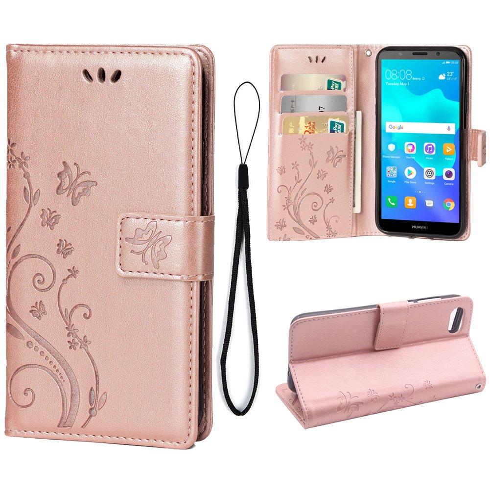 730c00123 Amazon.com  Wallet Case for Huawei Y5 2018 Y5 Prime 2018