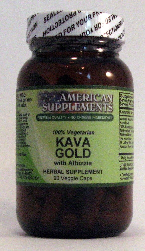 Kava Gold with Albizzia American Supplements 90 VCaps