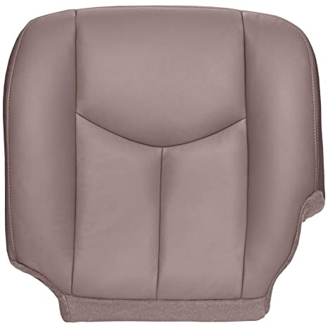 Chevy Silverado Replacement Seats >> The Seat Shop Driver Bottom Replacement Seat Cover Medium Neutral Tan Leather Compatible With 2003 2006 Chevrolet Silverado And Gmc Sierra