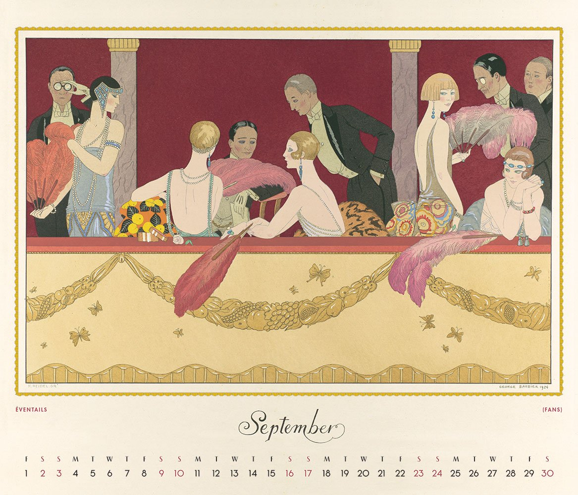 Art Deco Fashion 2017 Wall Calendar: The Metropolitan Museum of Art ...