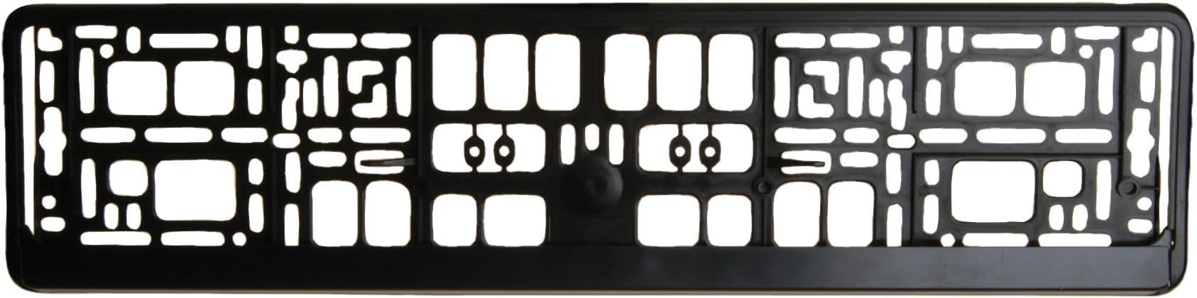 Unitec 84527 - Soporte de matrícula, color negro: Amazon.es: Coche ...