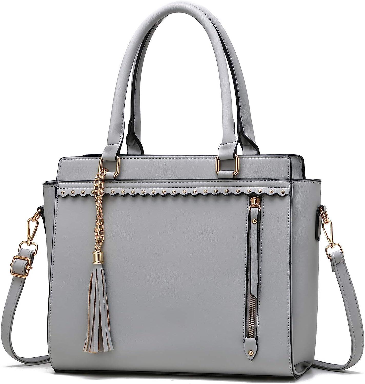 Satchel Bag PU Leather Handbags Fashion Purse Tote Women Shoulder Crossbody Lot