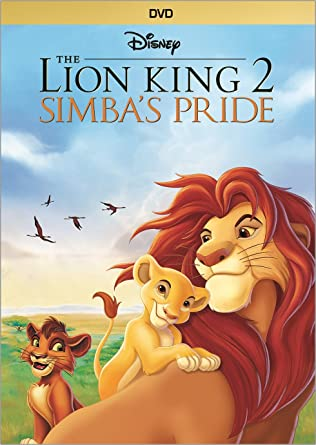 lion king 2 dvd