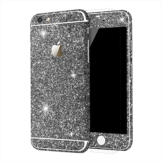 competitive price 0dc64 91b95 Beautiful iPhone 5s Glitter Stickers,DStores iPhone 5s Glitter Stickers  iPhone 5/5s Bling 360 Degree Full Body Decal Skin Bling Glitter Phone ...