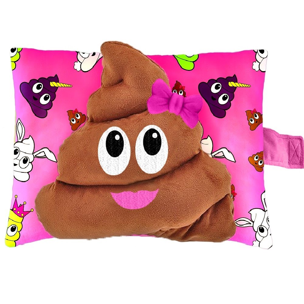 Pillow Pets Smiley's Stinky Face - Poop Stuffed Animal Plush Toy