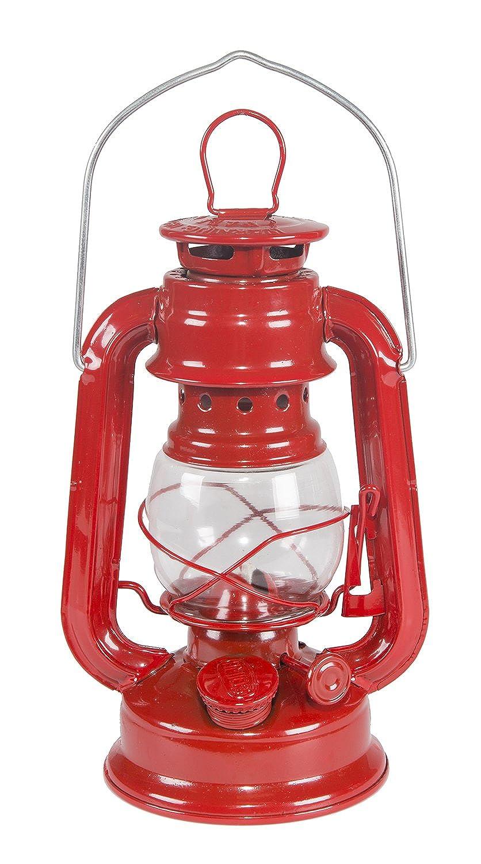 Stansport Small Hurricane Lantern Red