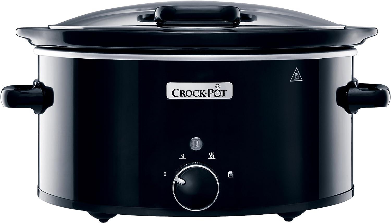 Crock Pot 5.6L Hinge Lid Slow Cooker 220/240 volt 50Hz (will not Work in USA)