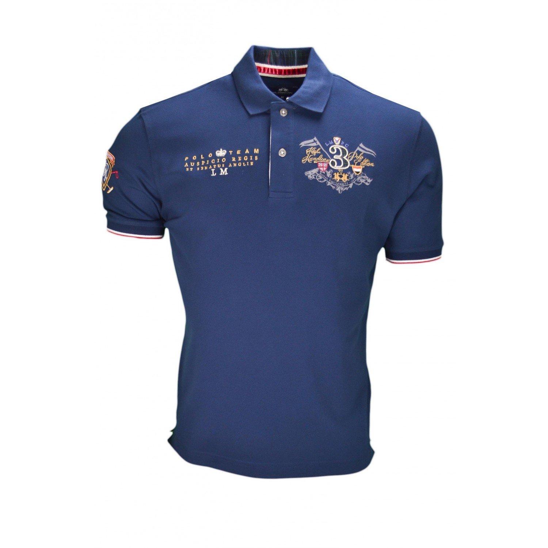 La Martina - Polo - Blusa - para hombre azul L : Amazon.es: Ropa y ...