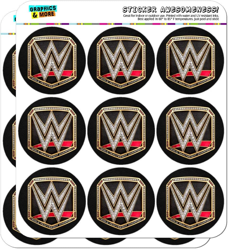 4x4 Sticker Decal (3 Pcs) GTOTd Stickers for World Wrestling Entertainment