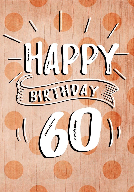 Download Happy Birthday 60: Birthday Books For Women, Birthday Journal Notebook For 60 Year Old For Journaling & Doodling, 7 x 10, (Birthday Keepsake Book) PDF