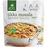 Simply Organic Tikka Masala Simmer Sauce, Certified Organic | 6 oz | Pack of 6