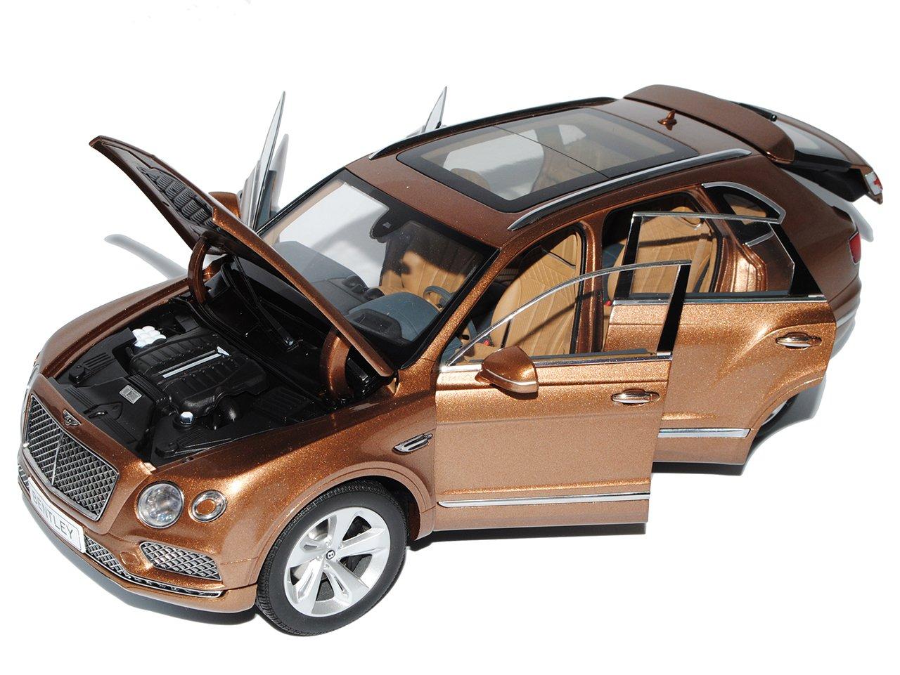 Bentley Bentayga SUV Bronze Braun Ab 2016 1//18 Kyosho Modell Auto mit oder ohn..
