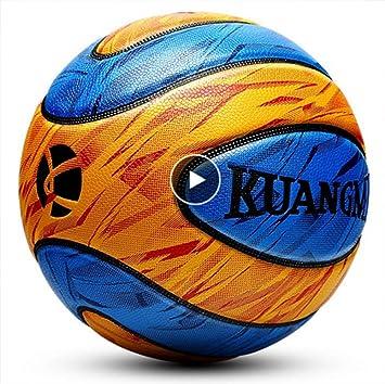 Kuangmi - Balón de Baloncesto, Talla 7: Amazon.es: Deportes y aire ...