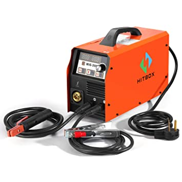 200A MIG Máquina de Soldar 220 V DC MIG MAG ARC LIFT TIG Soldador de Gas Gas Flux Alambre Núcleo de Alambre de Núcleo Sólido: Amazon.es: Bricolaje y ...