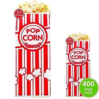 Carnival King bolsas de palomitas de maíz de papel de 1 oz ...