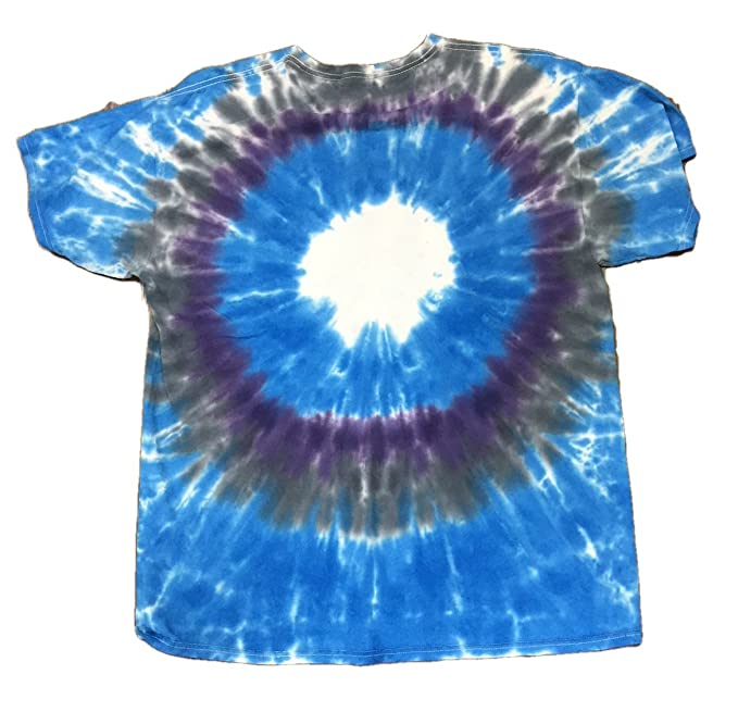 6261aa2b30d Amazon.com  Legends of Rock Men s Def Leppard Adrenalize Graphic Tie Dye  Crew Tee T-Shirt  Clothing