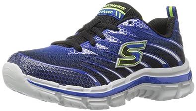 72fa71746f2d Skechers Boy s Nitrate Royal Black Sports Shoes - 2 UK India (35EU ...
