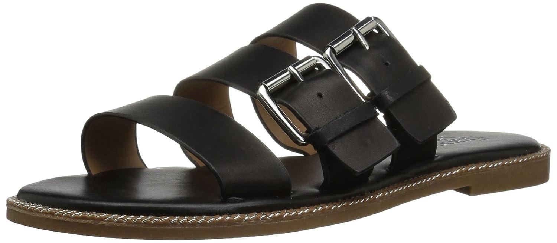 [Franco Sarto] Women's Kasa Flat Sandal US [並行輸入品] ブラック B0792CMY2R Sandal 6.5 B(M) US|ブラック ブラック 6.5 B(M) US, Happy×Hunter:6b2d8e72 --- m2cweb.com