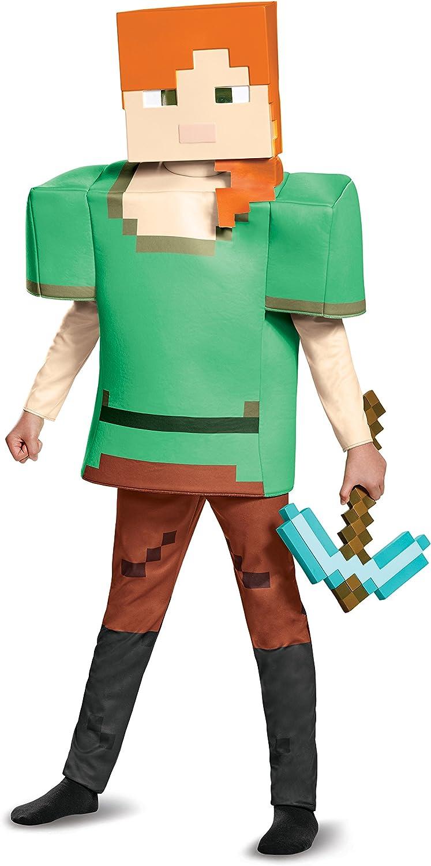 Disguise Steve Prestige Minecraft Boys Costume Multicolor Large 10-12
