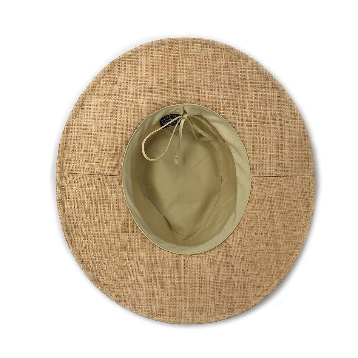 Wallaroo Hat Company Women's Morgan Fedora - Natural - UPF 50+, Modern Style by Wallaroo Hat Company (Image #4)